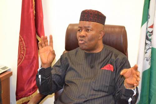 AKPABIO DENIES SAYING LAWMAKERS GOT 60 PERCENT NDDC CONTRACTS