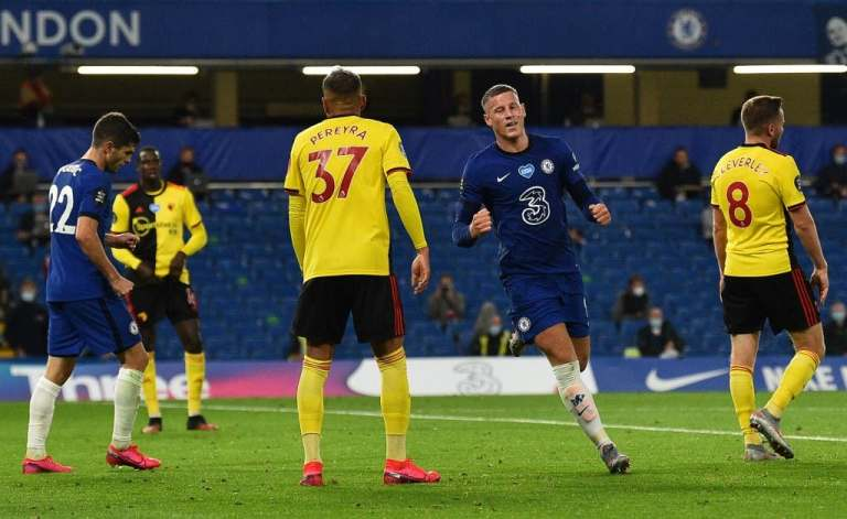 CHELSEA RETOOK THEIR PLACE WITH WATFORD WIN