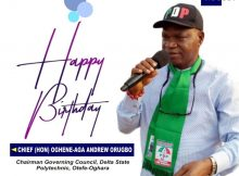 Jite Brown Felicitates With Andrew Orugbo At 60