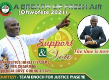 Iyasere Is A Devine Project For Udu People
