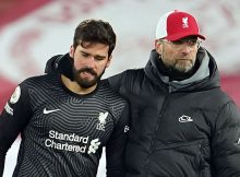 alisson teammates console him over fathers death 1