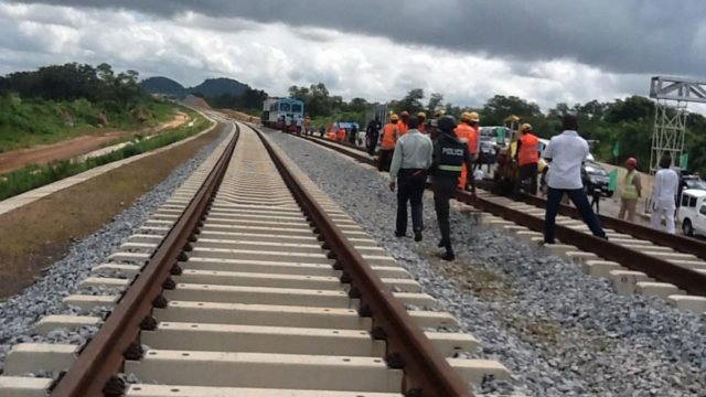 warri itakpe rail line flagged off freight services